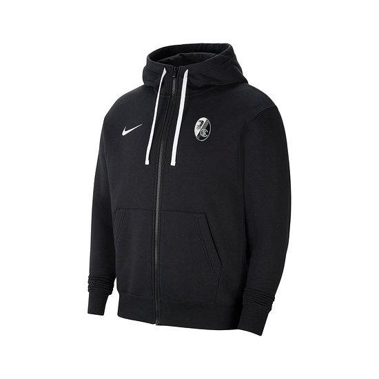 Nike SC Freiburg Kapuzenjacke 2021/2022 Schwarz