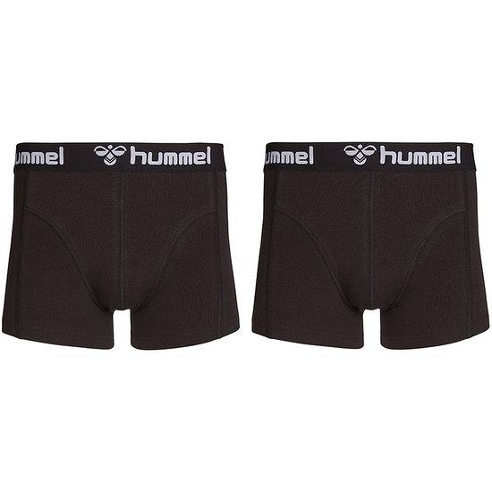hummel Boxershorts HMLMARS 2er Pack schwarz