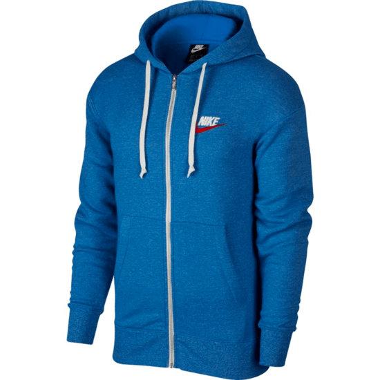 Nike Kapuzensweatjacke HERITAGE Blau