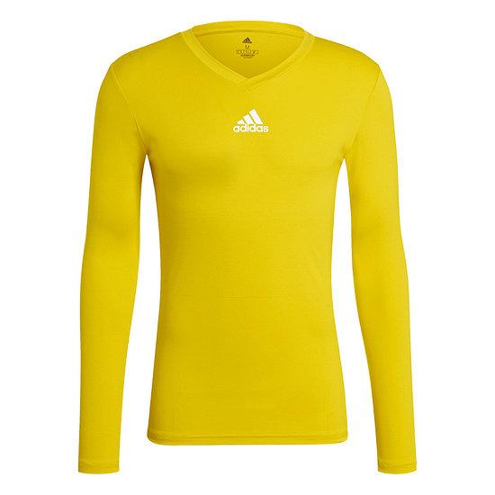 Adidas Trainingsshirt Langarm Team Base Gelb