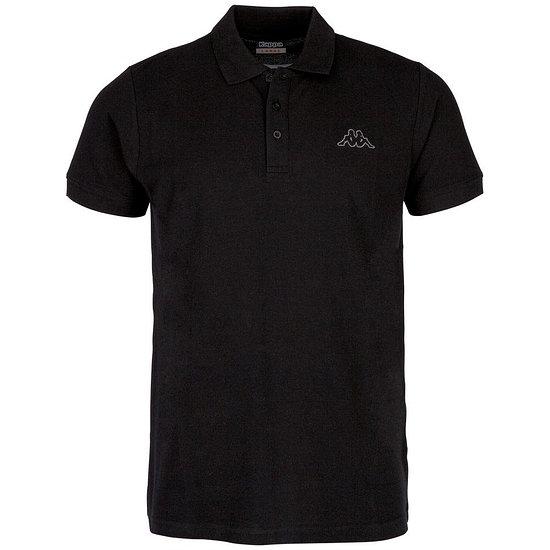 Kappa Poloshirt PELEOT schwarz