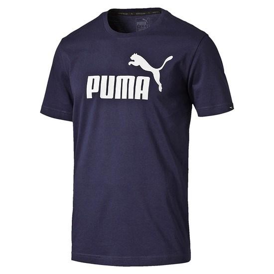 Puma T-Shirt ESS No.1 Dunkelblau