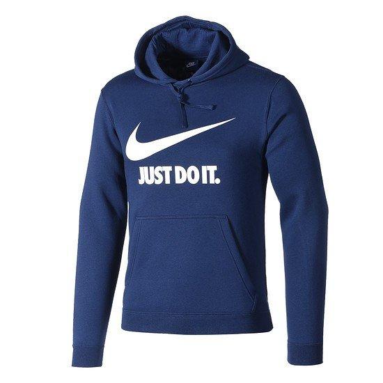 Nike Hoodie Sportswear blau/weiß