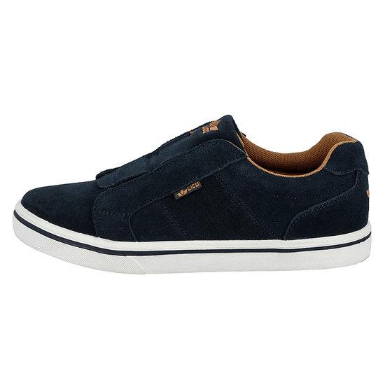 Lico Sneaker Jimdo Slipper marine/braun