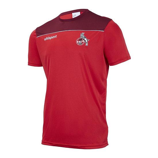 uhlsport 1. FC Köln Trainingsshirt Poly rot