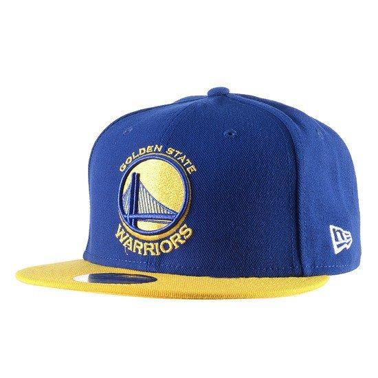 New Era Golden State Warriors Cap Team 59Fifty blau/gelb