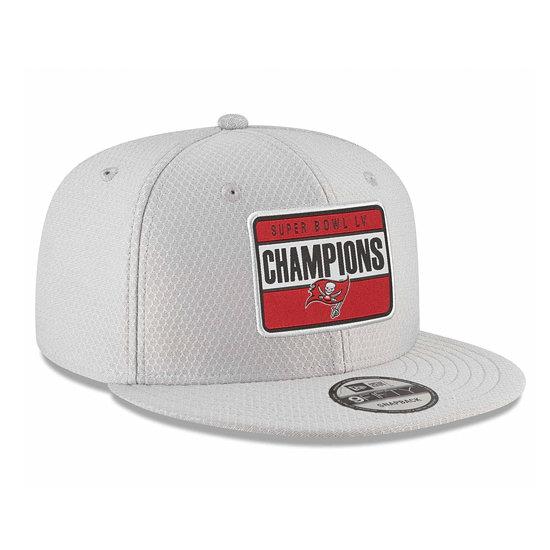 New Era Tampa Bay Buccaneers Cap Super Bowl 55 Champion Parade 9FIFTY grau