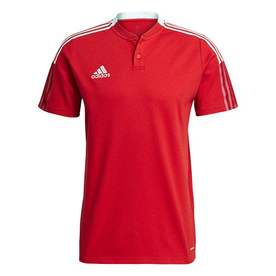 Adidas Poloshirt Tiro 21 Rot