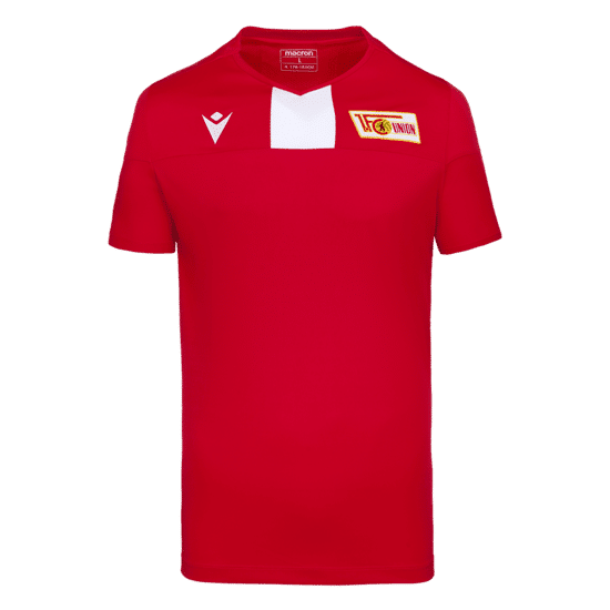 Macron 1. FC Union Berlin Trainingsshirt Fresh rot/weiß