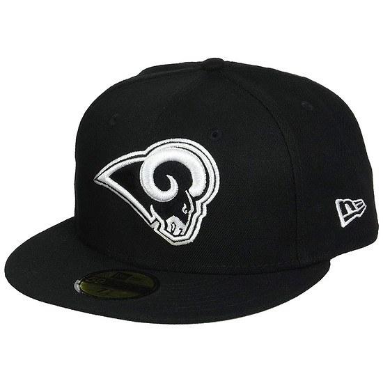 New Era Los Angeles Rams Cap League Basic Fit2 schwarz