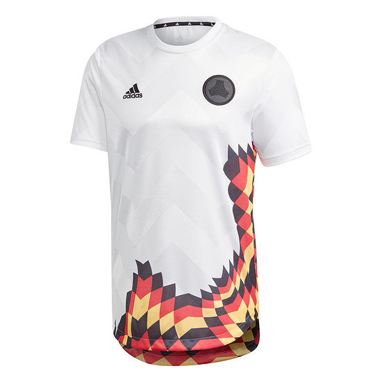 Adidas Deutschland T-Shirt TANGO ADVANCED Trikot Weiß