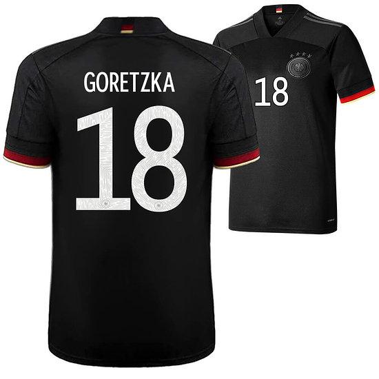 Adidas Deutschland EM 2021 DFB Trikot Auswärts GORETZKA Kinder