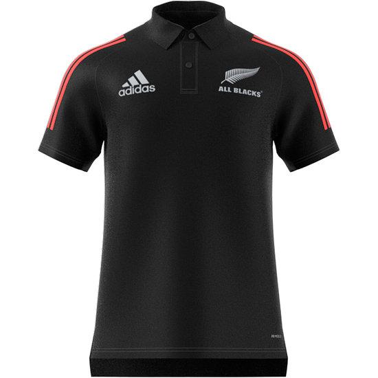 Adidas Neuseeland ALL BLACKS Poloshirt WM 2021 Schwarz