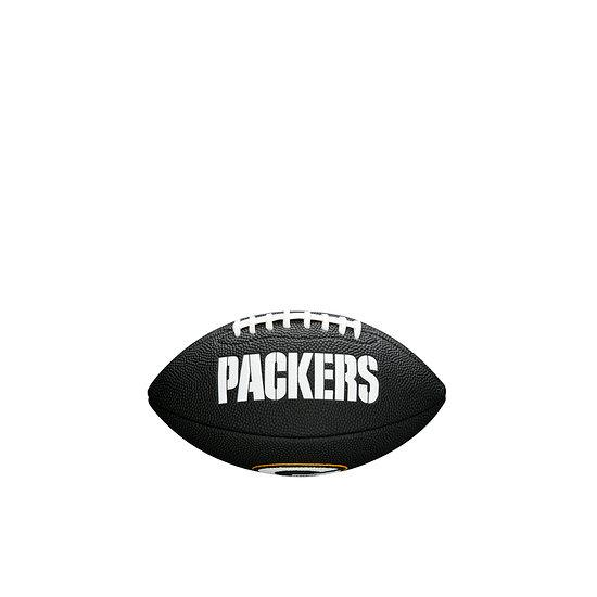 Wilson Green Bay Packers Football Mini Team Logo schwarz