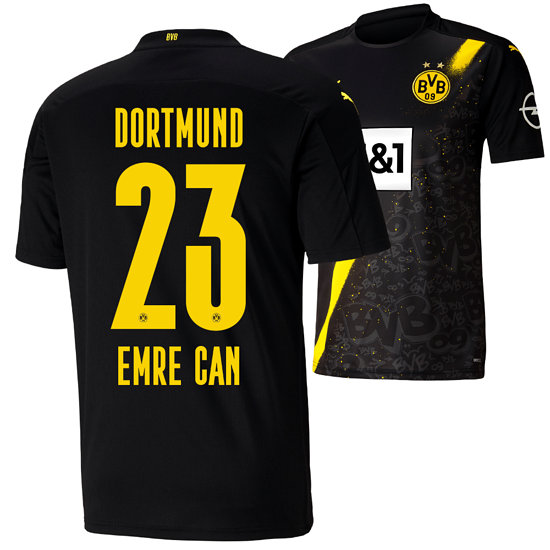 Puma Borussia Dortmund Auswärts Trikot 2020/2021 EMRE CAN