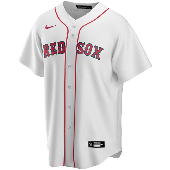 Nike Boston Red Sox Heim Trikot 2021 weiß