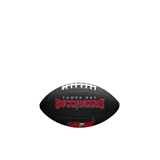Wilson Tampa Bay Buccaneers Football Mini Team Logo schwarz