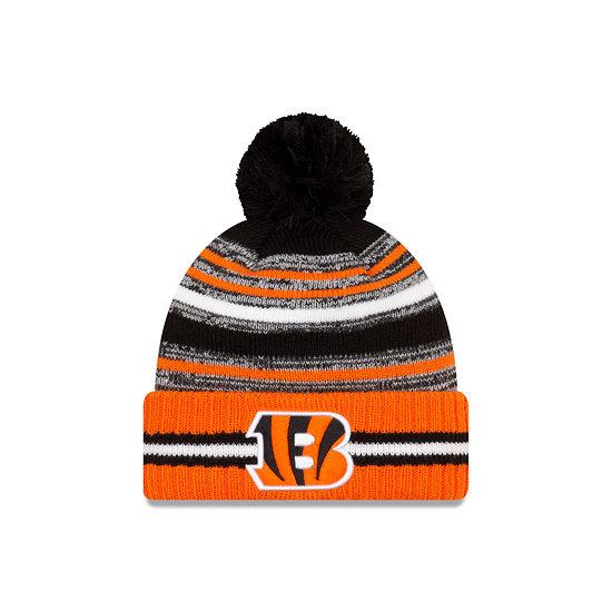 New Era Cincinnati Bengals Beanie Sport Knit Cold Weather orange