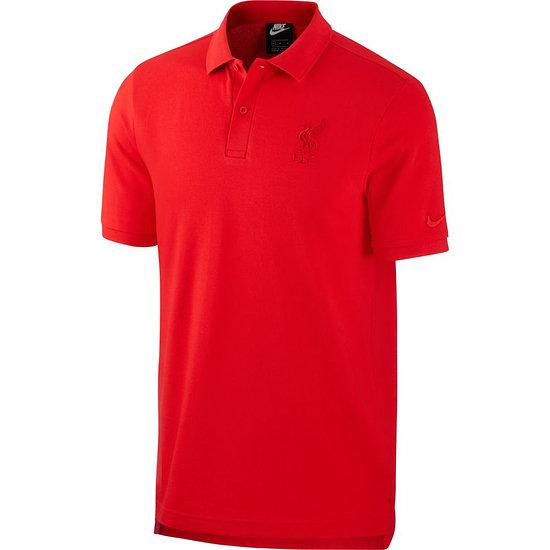 Nike FC Liverpool Poloshirt 2020/2021 Rot
