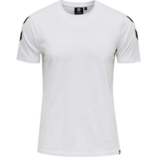 hummel T-Shirt Legacy Chevron weiß
