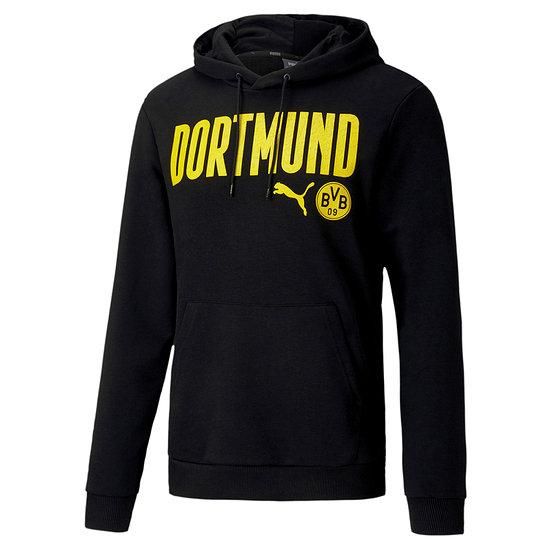 Puma Borussia Dortmund Hoodie DORTMUND 2020/2021 Schwarz