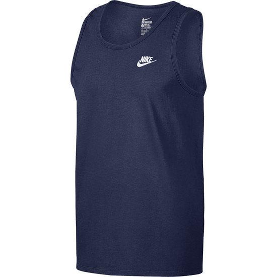 Nike Tanktop Club Futura blau/weiß