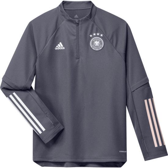 Adidas Deutschland DFB Trainingstop EM 2021 Kinder Dunkelgrau