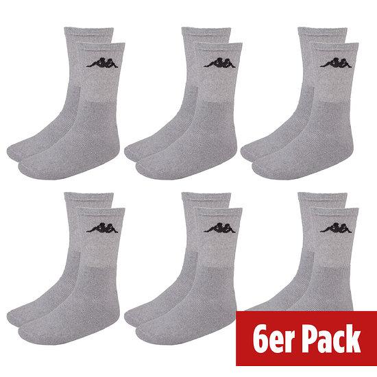 Kappa Socken Sport 6er Pack Grau