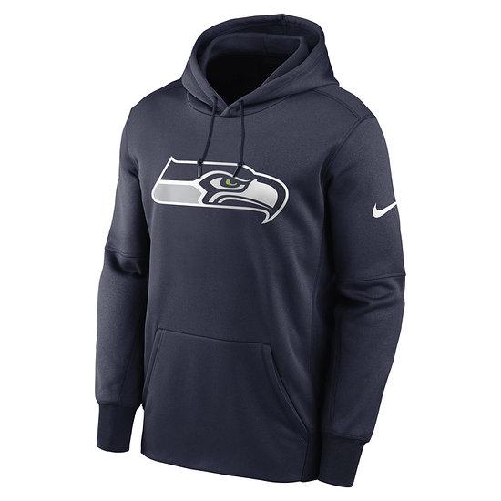 Nike Seattle Seahawks Hoodie Prime Logo Therma college navy