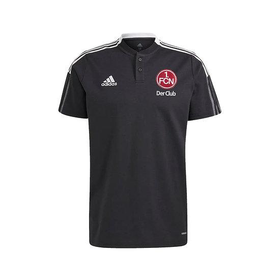 Adidas 1. FC Nürnberg Poloshirt 2021/2022 Schwarz