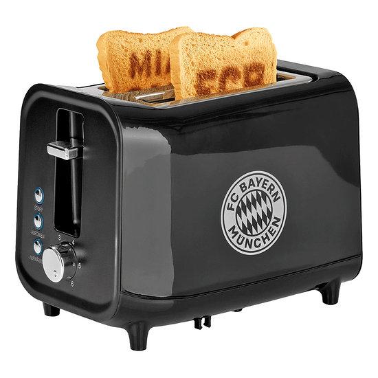 FC Bayern München Sound Toaster SUPER BAYERN Schwarz