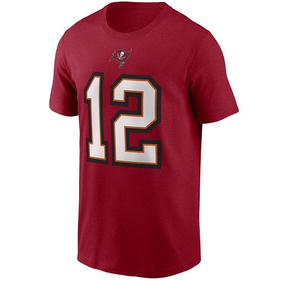 Nike Tampa Bay Buccaneers T-Shirt N&N Tom Brady gym red