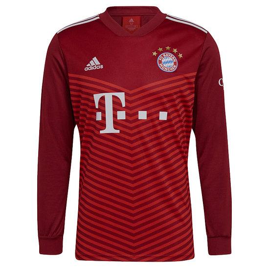 Adidas FC Bayern München Trikot 2021/2022 Heim Langarm