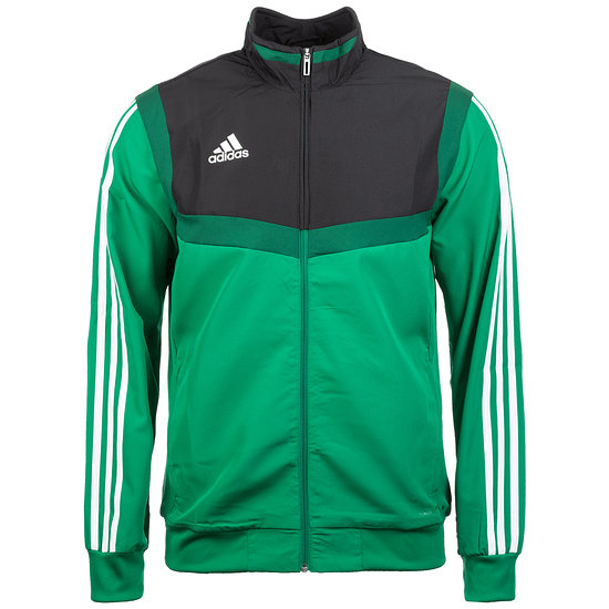 Adidas Fitness-Jacke Tiro 19 Grün