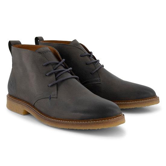 TRAVELIN OUTDOOR Boot Glasgow Leather dunkelgrau