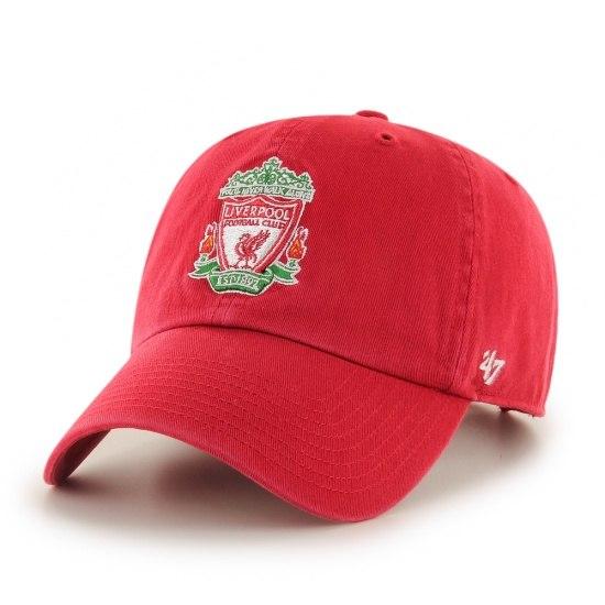 47 Brand FC Liverpool Cap Clean Up Logo